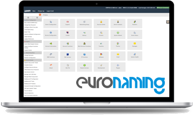 euronaming whm cpanel demo
