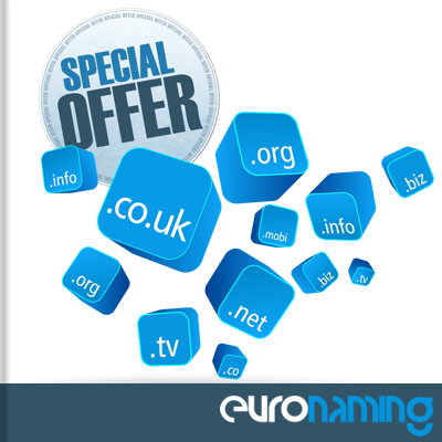 EuroNaming Domains Offers Promo